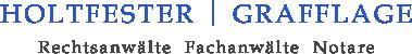 Holtfester | Grafflage – Rechtsanwälte Fachanwälte Notare Logo